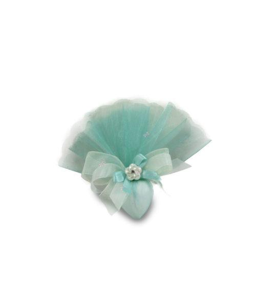Segnaposto Confetto Cuore Grande Maxtris Tiffany - NonSoloCerimonie.it