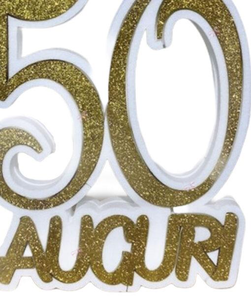 50 Anni Auguri Scritta Polistirolo 1 - NonSoloCerimonie.it