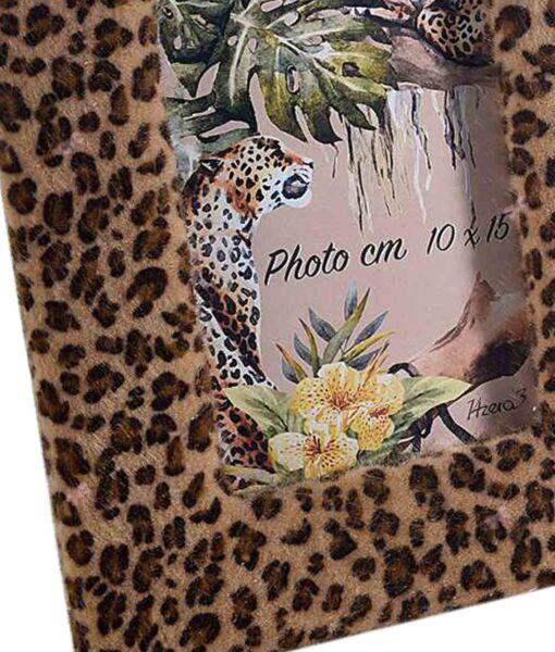 Cornice Portafoto Leopardato Afrika 1 - NonSoloCerimonie.it