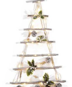 Albero di Natale in legno da Parete 3 - NonSoloCerimonie.it