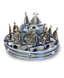 Torta Bomboniera Barca Vela 1 - NonSoloCerimonie.it